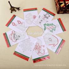 Christmas series decorative glitter window stickers