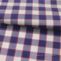 Tissu de chemise rayé 100% coton teint en fil pour chemise homme