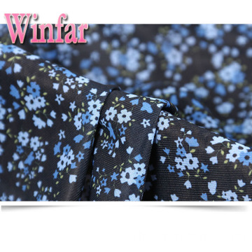 Single Jersey Flower Printed DTY Polyester Strickstoff