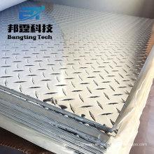 Aluminiumplatte des Aluminium-80x45, die Checker-Bodenblech-Bus-Gebrauchs-Aluminiumprofilplatte bildet