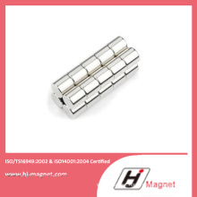 Sintered Rare Earth Permanent Cylinder NdFeB Magnet From China Manufacturer