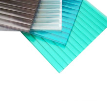 Yunai FREE SAMPLE Anti-UV and Anti-drip  coated  Hollow polycarbonate sheet for sunroom and carport