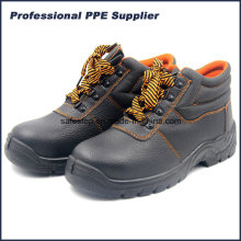 Genuine Leather Cheap Steel Toe Working Shoes