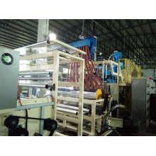 Máquina de película extensible de tres tornillos de rendimiento estándar