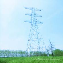 1000kV Linear Power Transmission Steel Tube Tower