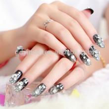 Женщины ногтей наклейки нетоксичный искусства стикер татуировки для ногтей