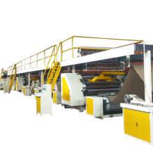 automatic 3 layer corrugated cardboard manufacturing production line box making machine