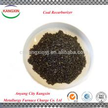 Graphite petroleum coke as recarburizer/coal recarburizer