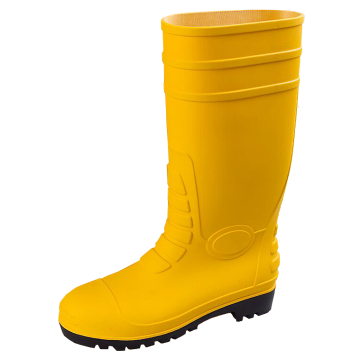 Boots Safety PVC Yellow