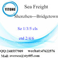 Shenzhen Port LCL Consolidation To Bridgetown