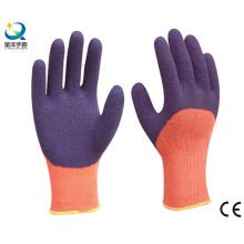 Coton Shell Latex 3/4 gants de travail revêtu