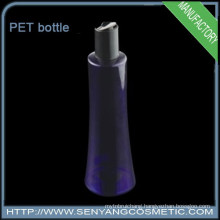 PET plastic shampoo bottles Lotion bottles plastic cosmetic container with cap