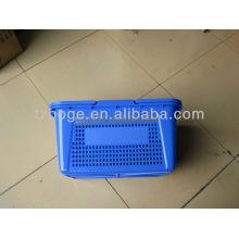 fornecedor plástico do molde da cesta de compra