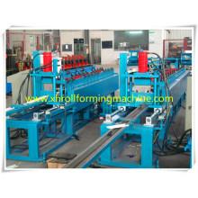 Luz quilla U máquina perfiladora / luz indicador acero estructura canal U rollo formando equipo