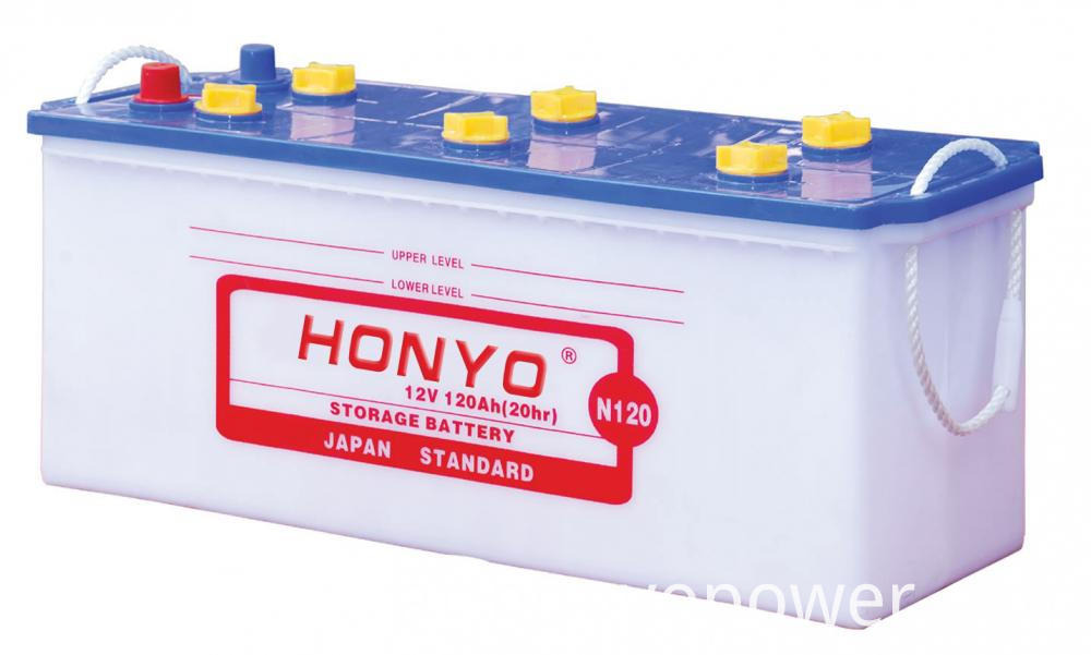N120 Japan Standard Car Batteries