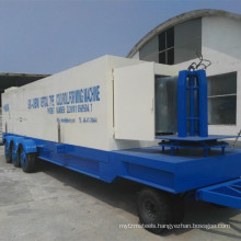 Arch Roof Sheet Making Machine/ Mobile Roof Sheet Machine Colored Steel Tile Hydraulic or PLC 15 M/min 13m/min about 10000KG