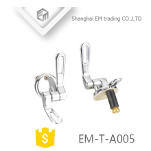 EM-T-A005 High quality soft close Stainless steel toilet seat hinges Sanitary ware