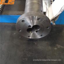 bimetallic or nitrided twin or single pvc pipe screws barrels