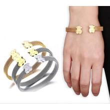 Fashion Jewelry Women′s Stainless Steel Bracelet