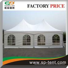 Toit de tente de plage étanche au vent avec structure ez-up