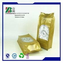 4 мешка для упаковки кофе в боковом уплотнении с дегазационным клапаном