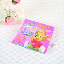 пены ПВХ цвет изменение Ванна книга для малыша