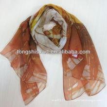 зимняя мода шарф 2013