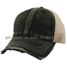 Шлифовка грязной обезьяной мыть Twill Mesh бейсбол Hater шлем (TM0863-1)