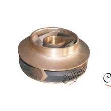 OEM Messing Kupfer Bronze Casting Wasserpumpe Impeller