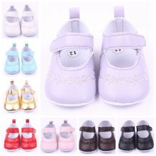 Zapatos de niña de tela suave y barata para caminar de estudio