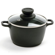 Amazon Vendor 1 Quart Nonstick Mini Pot with Glass Lid