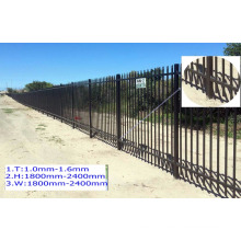 Matte black fence/ milky fence/ green grass fence