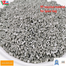 PP Recycled Black and White PP Particles Used in Woven Bags