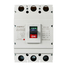 ANDELI AM1-630M/3300 400A 500A 600Amp MCCB 3P arc fault Moulded Case ac type of Circuit Breaker price