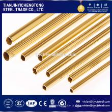 tubo de latão murado grosso de alta qualidade c26800 c2600