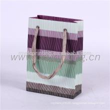 Custom printed decoration handmade gift paper bag