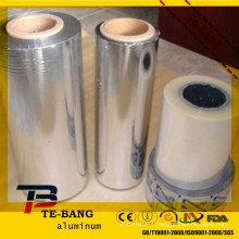 high light aluminum laminated films for cigarette, wine box, craft gifts, Christmas products packaging