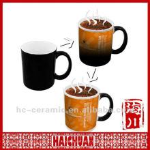 Keramik-Magie-Tasse, Foto wechselnden Becher mit heißem Wasser