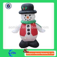 Alta calidad y grado superior hombre inflable de la nieve de la Navidad para los cabritos