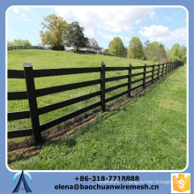 Customized High Quality and Strength Square/Round/Oval Tubes Style Farm Fence
