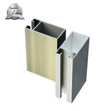 Artisanat supérieur 6063 au prix des rails de porte coulissante en aluminium