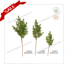 Christmas Artificial Tree Branch Decorations with Snow