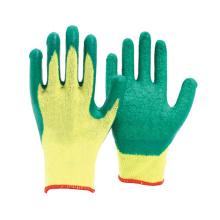 10 G Polycotton Knit Glove Dipped Latex