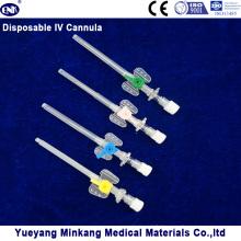 Cathéter iv intraveineux intraveineux / cathéter intraveineux avec orifice d'injection