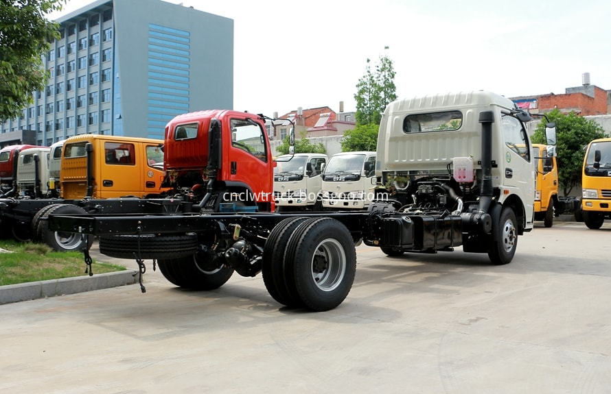 pesticide spraying truck chassis 4