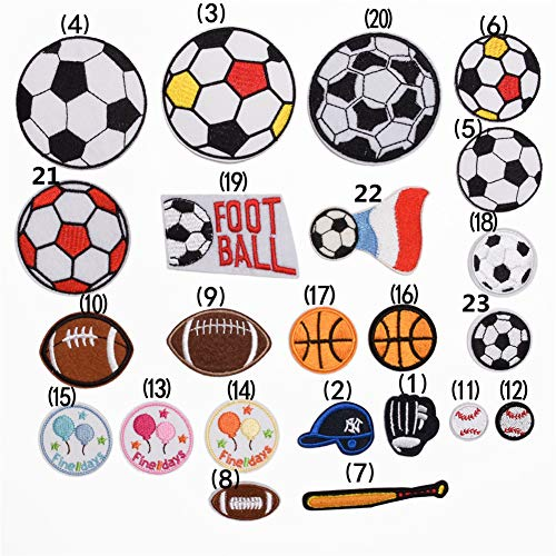 Ball Sport Patch Fabric