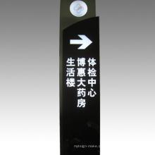 LED Schild Bord Verkehr Pflicht Schild Pylon Zeichen