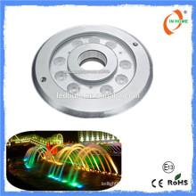 2016 Новый продукт IP68 подводный свет, ss316 9w привело подводный фонтан света