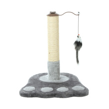 Home Style High Quality Happy Pet Small Cat Tree Fabric for Cat Tree Post