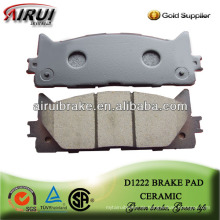 D1222 Camry Bremsbelag Ersatzteile